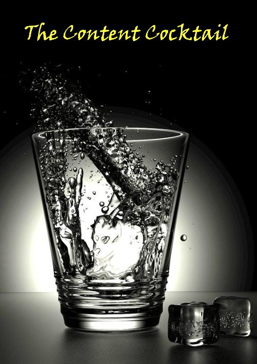 content cocktail black